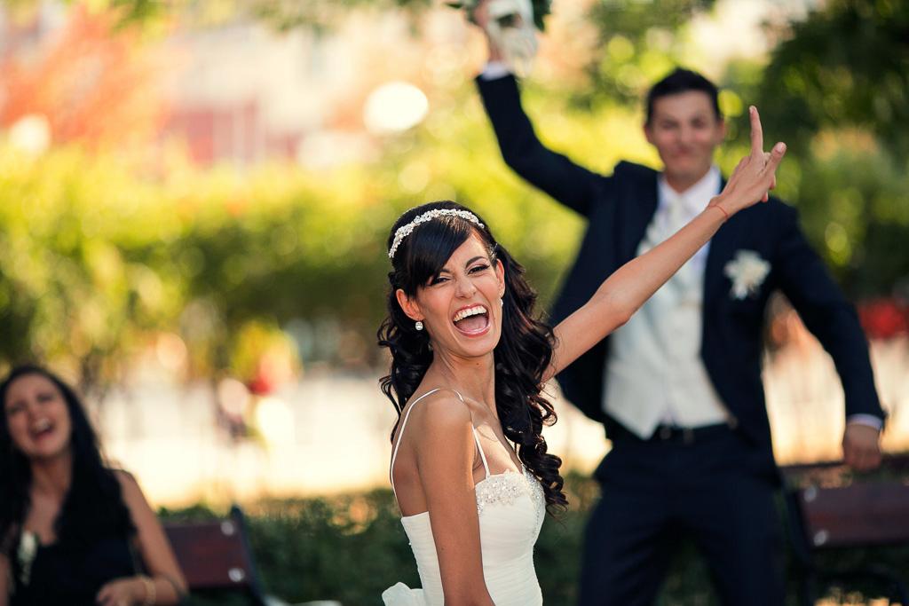 артистична сватбена фотография
