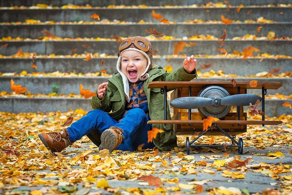 детски фотограф софия есенна фотосесия