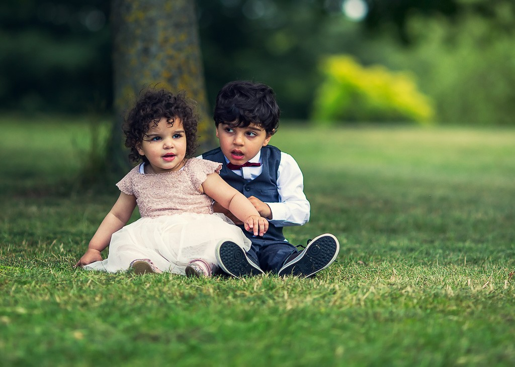 детски фотосесии в парка