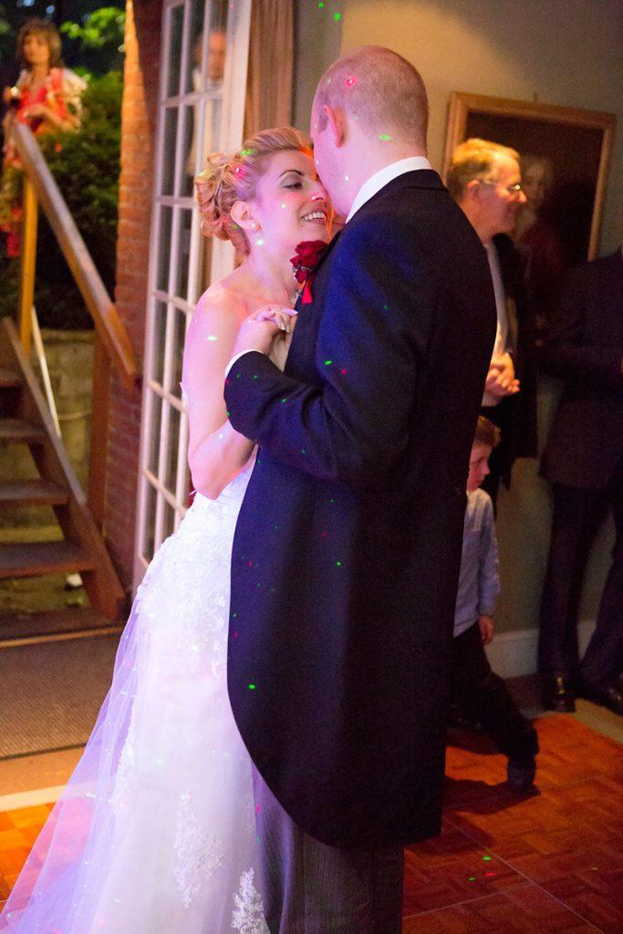 сватбена фотография, първият танц