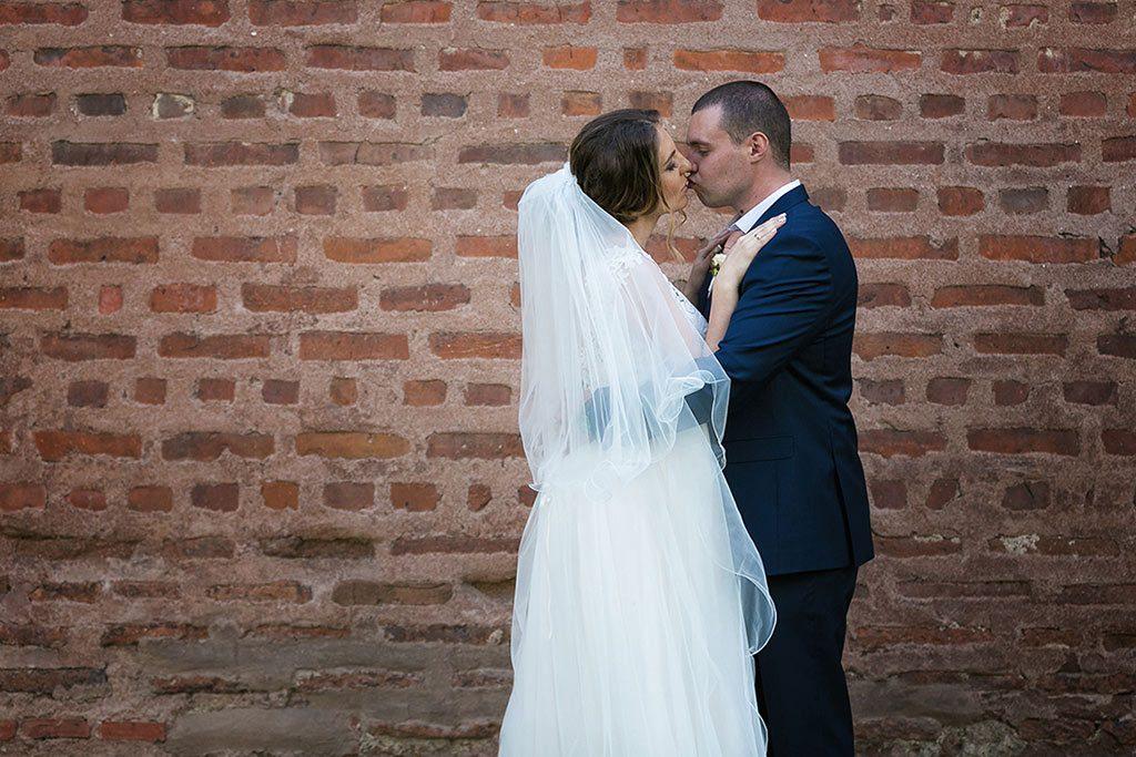 артистична сватбена фотосесия
