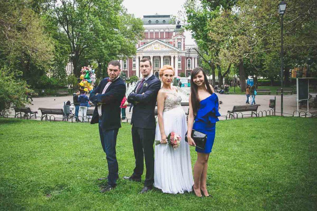 Сватбена Фотосесия Романтична