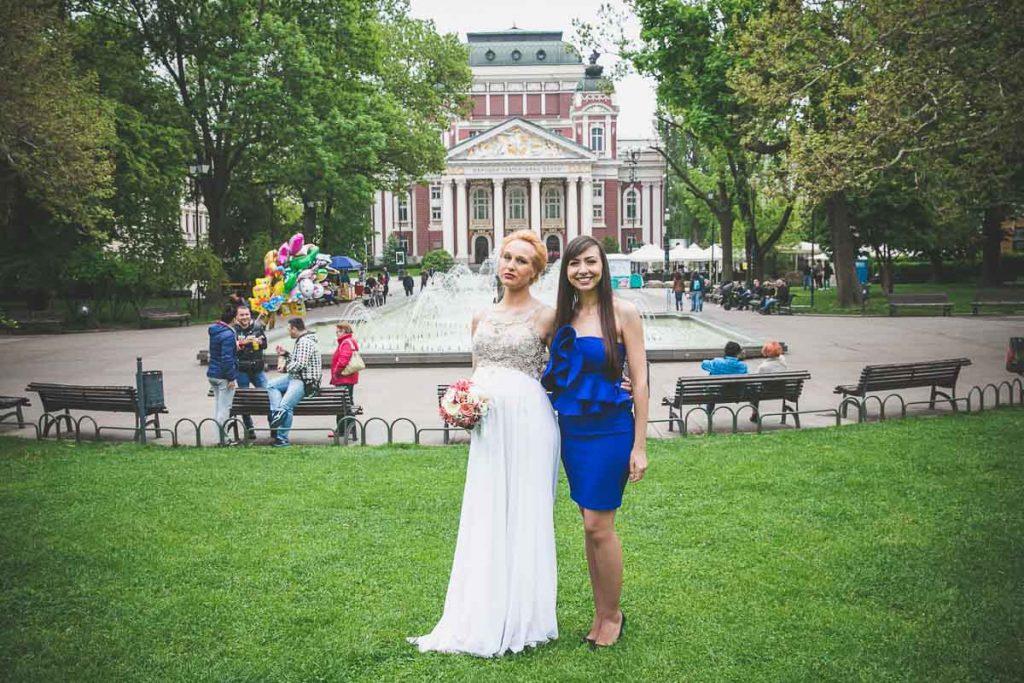 Художествена Сватбена Фотосесия
