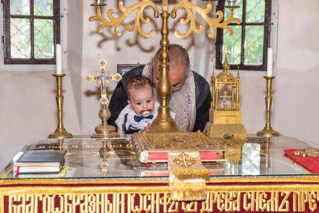 заснемане на кръщене