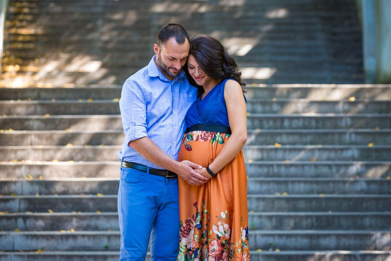 фотосесия за бременни на открито с подаръчен ваучер